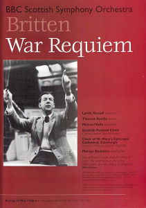 Mayfest 1995 - Britten War Requiem - BBC Scottish Symphony Orchestra